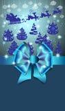 Cartão do ano novo para o projeto do feriado Fotos de Stock