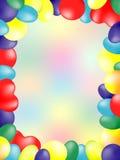 Cartão do balão Foto de Stock