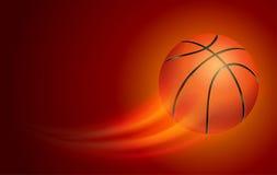 Cartão do basquetebol ilustração royalty free