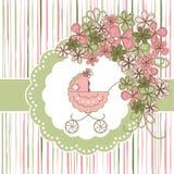 Cartão do bebê Imagem de Stock Royalty Free
