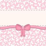Cartão do bebê do vetor, cartão Imagem de Stock Royalty Free
