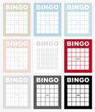 Cartão do Bingo ilustração royalty free