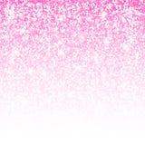 Cartão do brilho Fundo cor-de-rosa Qualidade superior ilustração do vetor