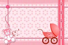 Cartão Do Chuveiro De Bebê Ilustração Do Vetor Ilustração De Cartão