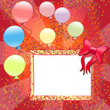 cartão do convite ilustração royalty free