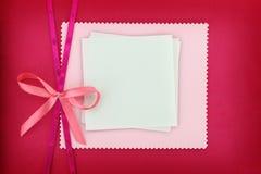 Cartão do convite Imagens de Stock Royalty Free