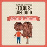 Cartão _1 do convite Foto de Stock Royalty Free
