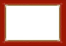 Cartão do convite Fotos de Stock