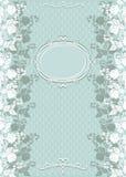 Cartão do convite do casamento do vintage Imagem de Stock Royalty Free