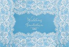 Cartão do convite, do cumprimento ou de casamento Imagens de Stock