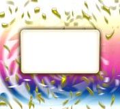 Cartão do convite do partido Fotos de Stock Royalty Free