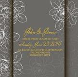 Cartão com fundo floral abstrato. ilustração do vetor