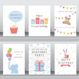 Cartão do cumprimento e do convite do feriado Fotos de Stock Royalty Free