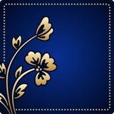 Cartão do cumprimento ou do convite do vetor Fotografia de Stock