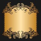 Cartão do cumprimento ou do convite do vetor Imagens de Stock