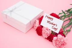 Cartão do dia de mãe feliz Fotos de Stock Royalty Free