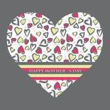 Cartão do dia de matriz Foto de Stock Royalty Free