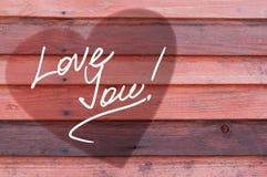 Cartão do dia de Valentim Imagem de Stock Royalty Free