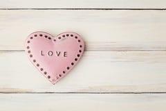 Cartão do dia de Valentim Imagens de Stock
