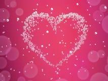 Cartão do dia de Valentineâs Imagens de Stock Royalty Free