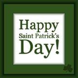 Cartão do dia do ` s de St Patrick do vetor ilustração do vetor