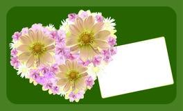 Cartão do dia do `s do casamento ou do Valentim ilustração do vetor