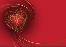 Cartão do dia do `s do Valentim Ilustração do Vetor