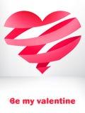 Cartão do dia do ` s do Valentim. + EPS8 Imagens de Stock