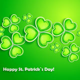 Cartão do dia do St. Patricks Fotografia de Stock