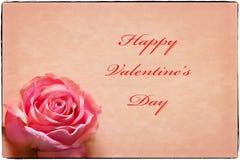 Cartão do dia do Valentim Imagem de Stock