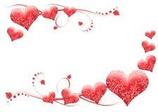 Cartão do dia de Valentim ilustração do vetor