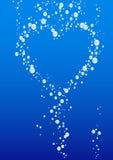 Cartão do dia dos Valentim Fotografia de Stock Royalty Free