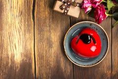 Cartão do dia ou do aniversário de Valentim Imagem de Stock Royalty Free