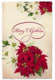 Cartão do Feliz Natal Fotografia de Stock Royalty Free