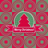 Cartão do Feliz Natal Imagens de Stock Royalty Free