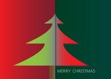 Cartão do Feliz Natal Foto de Stock