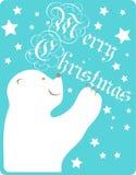 Cartão do Feliz Natal do vetor Imagem de Stock