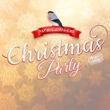 Cartão do Feliz Natal Eps 10 Fotos de Stock Royalty Free