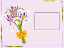 Cartão do feriado Imagens de Stock