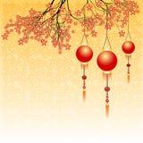Cartão do feriado ao ano novo chinês 2015 Imagens de Stock Royalty Free