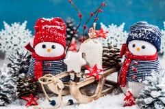 Cartão do feriado em cores brilhantes no fundo branco Imagem de Stock Royalty Free
