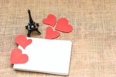 Cartão do feriado para o dia de Valentim Imagem de Stock Royalty Free