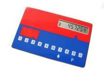 Cartão do gerador da senha Fotografia de Stock