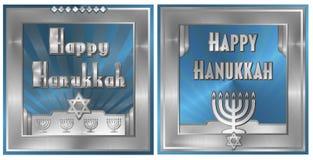 Cartão do Hanukkah Foto de Stock Royalty Free