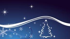 Cartão do inverno Imagens de Stock