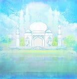 Cartão do kareem da ramadã ilustração do vetor