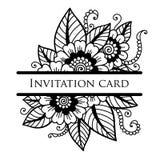Cartão do laço do vetor Imagens de Stock Royalty Free