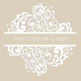 Cartão do laço do vetor Fotos de Stock Royalty Free