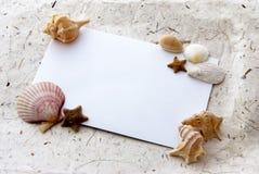 Cartão do mar Imagem de Stock Royalty Free