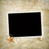 Cartão do mar para o feriado Imagens de Stock